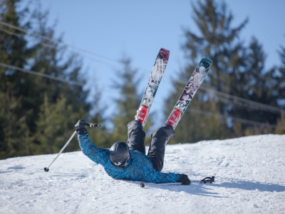 urazy nastoku narciarskim