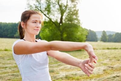 zespół cieśni nadgarstka ćwiczenia